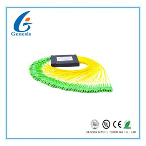 Small Size Optical Cable Splitter , High Reliability Fiber Optic Splitter For FTTH 1x64