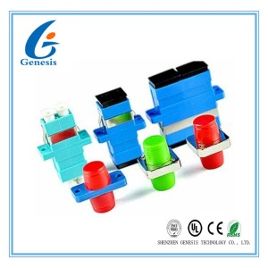 SM / MM Fiber Optic Adapter Simplex / Duplex with Ceramic Sleeve Free Sample