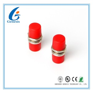 Big D Fiber Optic Adapter Simplex FC Flange Adapter specification Customized for CATV