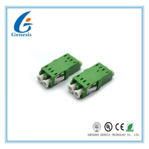 Low Insertion Loss Fiber Optic Cable Adapter APC / UPC Optional For Equipment Test