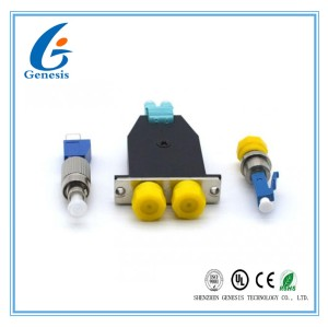 DWDM 1260 - 1600 nm Fiber Optic Attenuator FC - LC Male Fixed Optical Fiber Attenuation