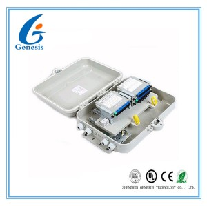 Plastic Waterproof Cable Fiber Optic Distribution Box Easy To Maintain