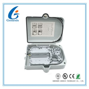 IP65 24 core Fiber Optic Distribution Box , fiber optic cable junction box