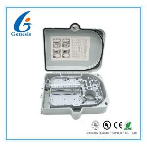 IP65 24 core Fiber Optic Distribution Box , fiber optic cable junction box