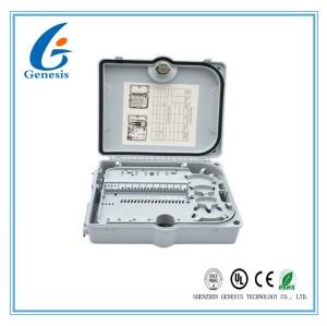 FTTH ABS and PC Fiber Optic Distribution Box / 1*32 Way fiber optic junction box
