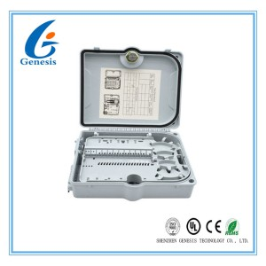 FTTH ABS and PC Fiber Optic Distribution Box / 1*32 Way fiber optic junction box