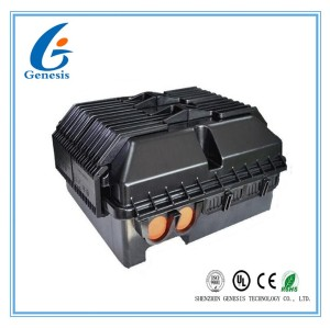 Low Return Loss Fiber Optic Distribution Box FTTH Outdoor Waterproof Terminal Box