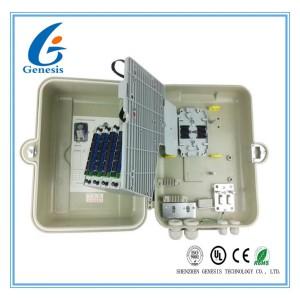 FTTH Fiber Optic Distribution Box 32 Ports SMC Material Cable Termination Box