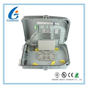 24 Ports FTTH Fiber Optic Distribution Box ABS Material Optical Termination Box