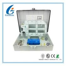 Outdoor Fiber Optic Termination Box 48 Core Wall Mounted Enclosure Box For FTTB