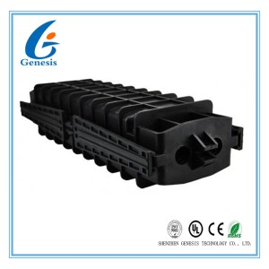 48GS 4 Latchs In - line fiber optical splice closure Big space for cable reserved