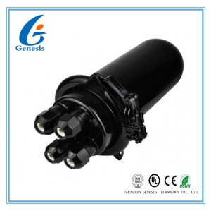 96GS Fiber Optic Joint Box , Dome Mechanical Seal fiber optic joint closure