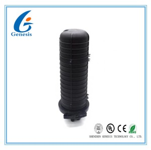 FTTH 96 Core cable dome fiber optic splice box , wall hung fiber joint box