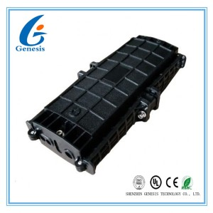72GS Latching In line Splice Closure Fiber Optic Joint Box for FTTH , IP68 protection