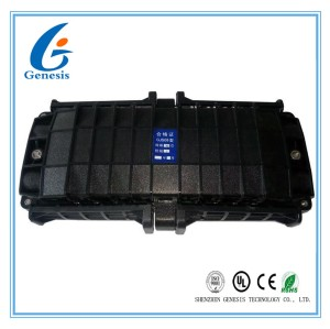 Fiber Optic Joint Closure 288 Core , 4 In 4 Out Horizontal Fiber Optic Junction Box