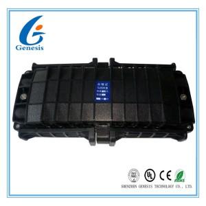 Fiber Optic Joint Closure 288 Core , 4 In 4 Out Horizontal Fiber Optic Junction Box