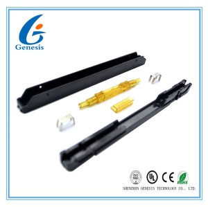 Indoor Bare Fiber Optic Mechanical Splice Heat Endurance Reliable For FTTH