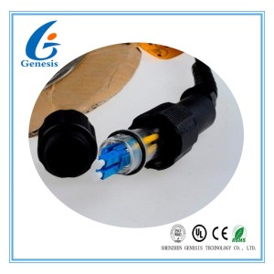 Base Station Fiber Optic Patch Cord Duplex Waterproof Outdoor Optical Fiber Cable