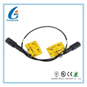 Optical Fiber Patch Cord 7.0mm MM Duplex Armored With PDLC - PDLC Connector