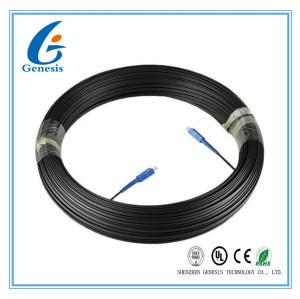 Telecom SM Fiber Optic Patch Cord Single Length Customized With SC - SC Connector
