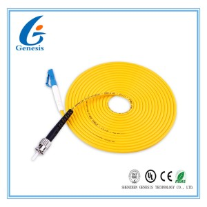 SC Fiber Optic Patch Cord Single Mode G652D 9 / 125 Fiber Optic Cable For FTTX System