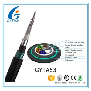 GYFTA53 Loose Tube Double Jacket Double Armor Cable