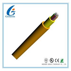 GJFJV FTTX Fiber Optic Distribution Cable / 2.0 mm Tight Buffer Indoor Distribution Cable