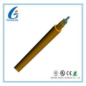 GJFJV Multi-Purpose Distribution Cable(1-24Fiber)indoor outdoor glass loose tube, fiber optic dropcable