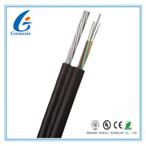 Fig8 FRP non-metalic strength member 12cores single mode fiber optical cable