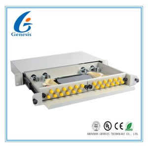 Wall Mount Fiber Optic Patch Panel Single Mode Pigtail Optical Distribution Frames