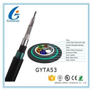 GYFTA53 Loose Tube Gaine Double Blindage Double Cable