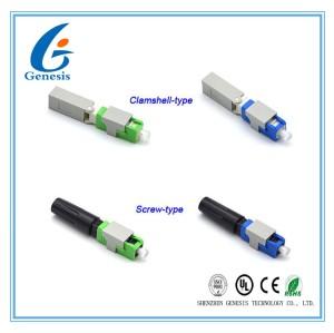 À Clapet Vis Rapide Connecteur De Raccordement En Fibre Optique