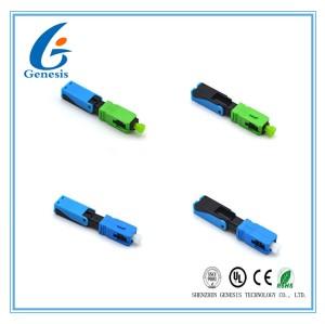 緑繊維光高速コネクタ 52 Mm 光ファイバー光ファイバー SC コネクタ