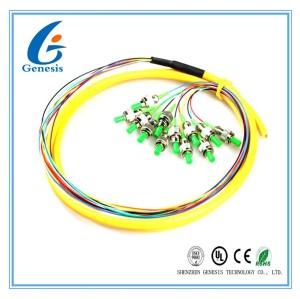 Câble optique à plusieurs modes de fonctionnement de fibre de FTTH, câble de fibre optique de noyau de FC/RPA 12