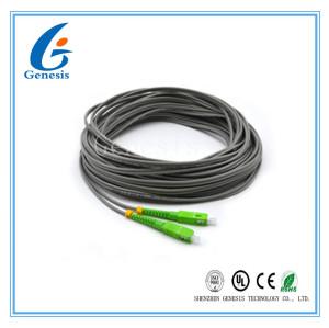 Noyau de fibre optique 50M du simplex 2 de mode unitaire de tresse de Sc/RPA avec la veste de LSZH