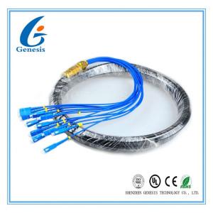 Tresse extérieur de Sc du tresse 12 de réseau de CATV de fibre de fibre optique de noyau imperméable