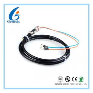 Le mode unitaire FC/tresse de fibre optique d'UPC imperméabilisent 2 le noyau 5M G652D facilement montés
