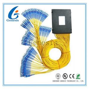 Diviseur optique de PLC de noyau de Corning, diviseur de PLC du design compact 1x8 pour des systèmes de FTTX