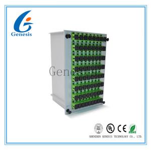 Type connecteur de Sc de cassette/UPC de diviseur de fibre multimode pour de transmission de données