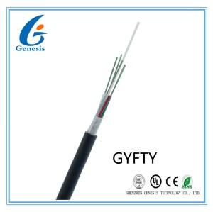 Noyau de fibre optique du câble 250um 24 de FTTH multi - tube lâche aucun armure flexible