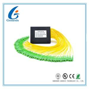 Diviseur de petite taille de câble à fibres optiques, haut diviseur optique de fibre de fiabilité pour FTTH