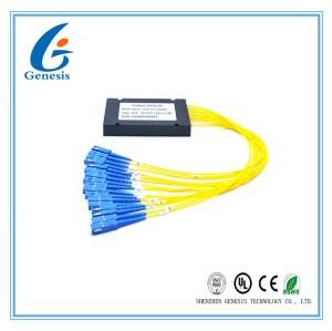 Bas diviseur optique 1260 de PLC de fibre de perte par insertion - longueur d'onde 1650nm avec la boîte