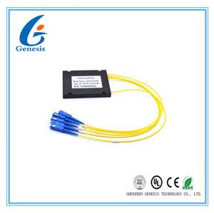 La stabilité optique en forme de boîte 2x16 de diviseur de PLC de fibre se dédouble pour le système de CATV