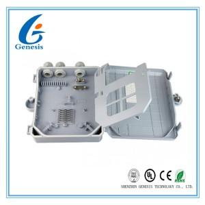 Boîte de distribution par câble de 8 noyaux, boîte extérieure d'arrêt de fibre de bâti de mur