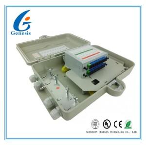 Boîte optique de serrure de mur de ports des cadres de distribution IP67 16 pour le réseau de FTTH Access
