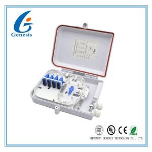 Boîte fixée au mur extérieure optique matérielle de FTTx de noyau de la boîte de distribution de fibre d'ABS de PC 16