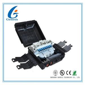 Bas coffret d'extrémité imperméable extérieur optique de la boîte de distribution de fibre de perte de retour FTTH
