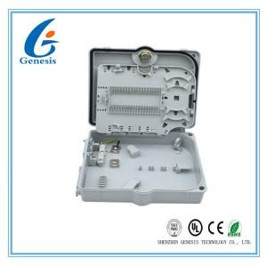 Boîte de jonction optique optique de fibre de manière boîte/1*32 de distribution de fibre d'ABS et de PC de FTTH