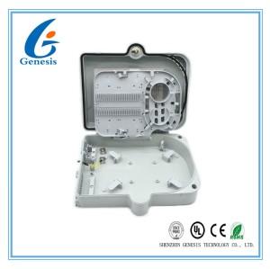 Boîte de distribution optique de fibre du noyau IP65 24, boîte de jonction de câble optique de fibre