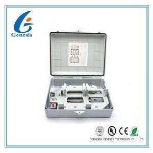 Boîte de distribution optique imperméable en plastique de fibre de câble facile à maintenir